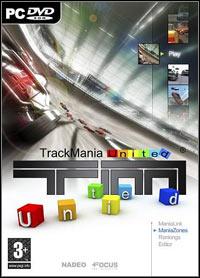 Game Box for Trackmania United (PC)