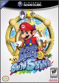 Game Box for Super Mario Sunshine (GCN)