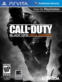 Game Box for Call of Duty: Black Ops Declassified (PSV)