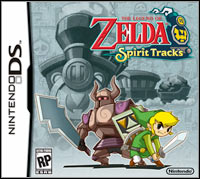 Game Box for The Legend of Zelda: Spirit Tracks (NDS)