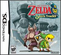 The Legend of Zelda: Spirit Tracks (NDS cover