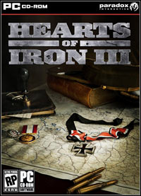 Game Box for Hearts of Iron III (PC)