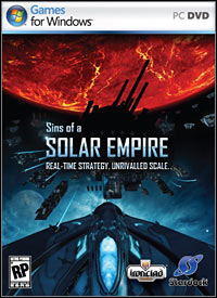 Game Box for Sins of a Solar Empire (PC)