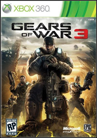 Game Box for Gears of War 3 (X360)