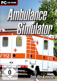 Game Box for Ambulance Simulator (PC)