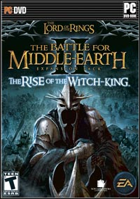 Game Box for The Lord of the Rings: The Battle for Middle Earth II – The Rise of the Witch-King (PC)