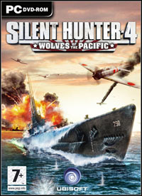 Game Box for Silent Hunter 4: Wolves of the Pacific (PC)