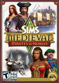 The Sims: Medieval - Pirates and Nobles (PC cover