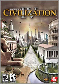 Game Box for Sid Meier's Civilization IV (PC)