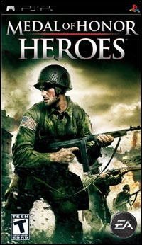 Medal of Honor: Heroes (PSP cover