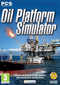 Game Box for Oil Platform Simulator 2011 (PC)