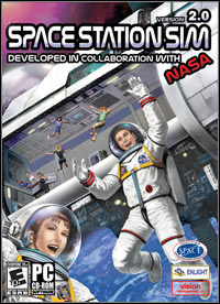 Game Box for Space Station Sim (PC)