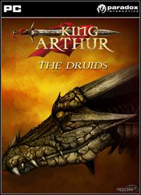 Game Box for King Arthur: The Druids (PC)