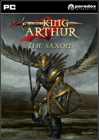 Game Box for King Arthur: The Saxons (PC)