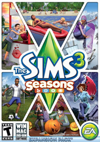 Game Box for The Sims 3: Seasons (PC)