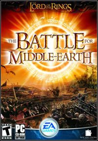 Game Box for The Lord of the Rings: The Battle for Middle-Earth (PC)