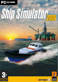 Game Box for Ship Simulator 2008 (PC)
