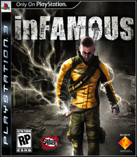 Game Box for inFamous (PS3)