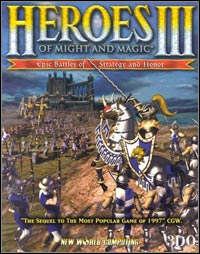 Game Box for Heroes of Might and Magic III: The Restoration of Erathia (PC)