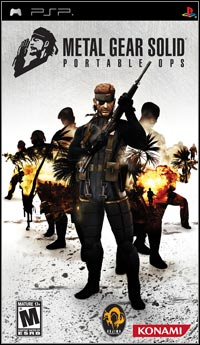 Game Box for Metal Gear Solid: Portable Ops (PSP)