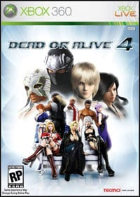 Game Box for Dead or Alive 4 (X360)