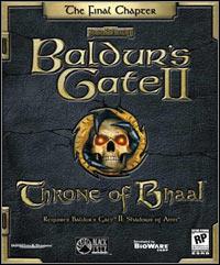 Game Box for Baldur's Gate II: Throne of Bhaal (PC)