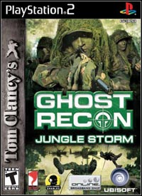 Game Box for Tom Clancy's Ghost Recon: Jungle Storm (PS2)