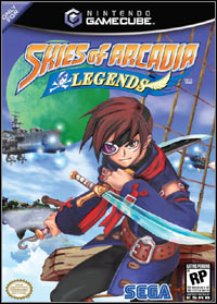 Game Box for Skies of Arcadia Legends (GCN)