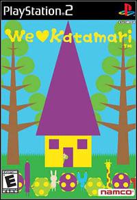 Game Box for We Love Katamari (PS2)