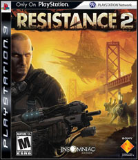 Game Box for Resistance 2 (PS3)