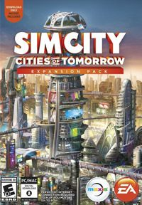Game Box for SimCity: Cities of Tomorrow (PC)