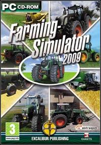 Game Box for Farming Simulator 2009 (PC)