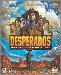 Game Box for Desperados: Wanted Dead or Alive (PC)