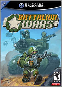 Game Box for Battalion Wars (GCN)