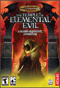 Game Box for Greyhawk: The Temple of Elemental Evil (PC)