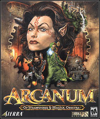 Arcanum: Of Steamworks and Magick Obscura (PC cover