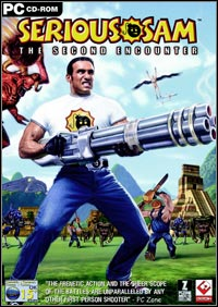 Game Box for Serious Sam: The Second Encounter (PC)