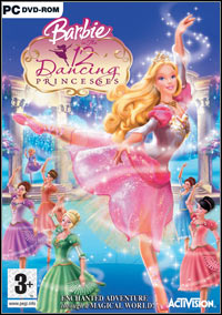 Barbie in The 12 Dancing Princesses (PC cover