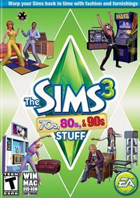 Game Box for The Sims 3: 70s, 80s, & 90s Stuff (PC)