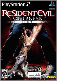 Game Box for Resident Evil: Outbreak - File #2 (PS2)