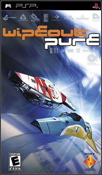 Game Box for WipEout Pure (PSP)
