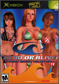 Dead or Alive Xtreme Beach Volleyball (XBOX cover