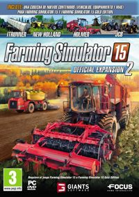 Game Box for Farming Simulator 15: Official Expansion 2 (PC)