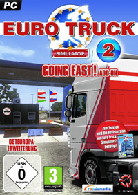 Euro Truck Simulator 2: Going East! (PC cover