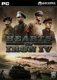 Game Box for Hearts of Iron IV (PC)