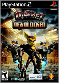 Game Box for Ratchet: Deadlocked (PS2)