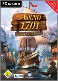 Game Box for Anno 1701: The Sunken Dragon (PC)