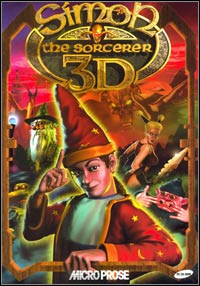 Game Box for Simon the Sorcerer 3D (PC)