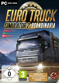 Game Box for Euro Truck Simulator 2: Scandinavian Expansion (PC)