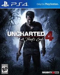Game Box for Uncharted 4: A Thief's End (PS4)